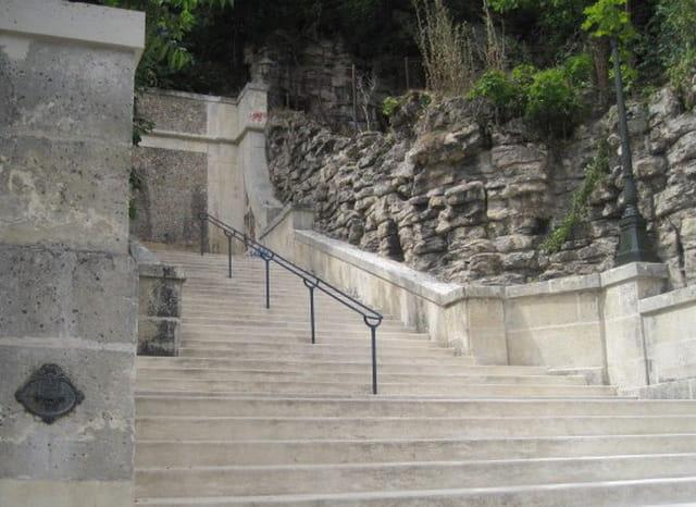 La Rampe des Grottes restaurée