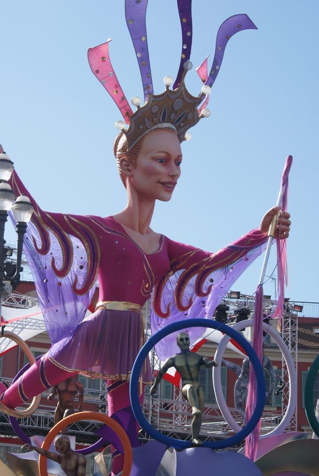 la reine du carnaval