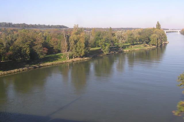 La rive du Parc Corbière