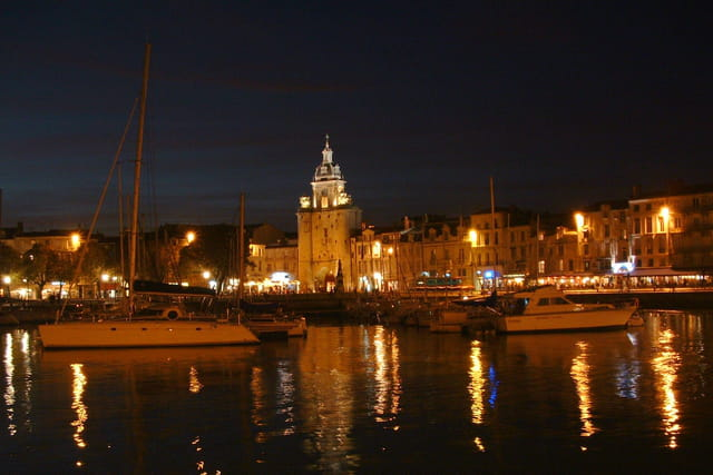 La Rochelle by night