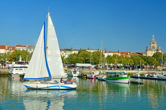 La Rochelle estivale : Vieux-Port