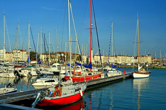 La Rochelle printanière : vieux-port
