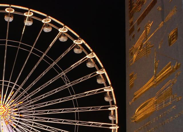 La roue et l'obélisque