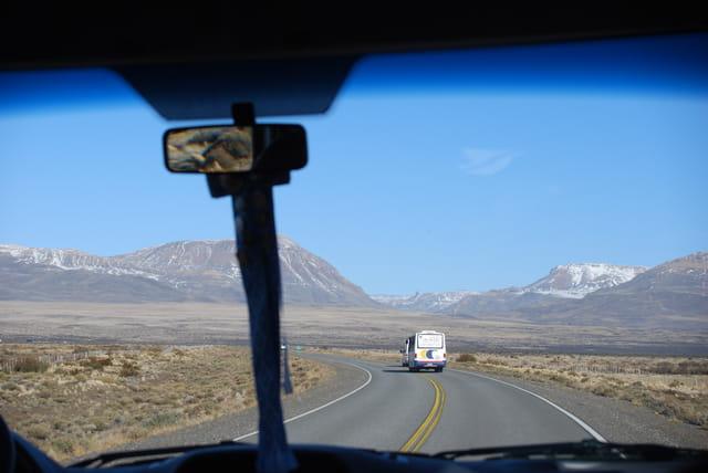 La route des glaciers