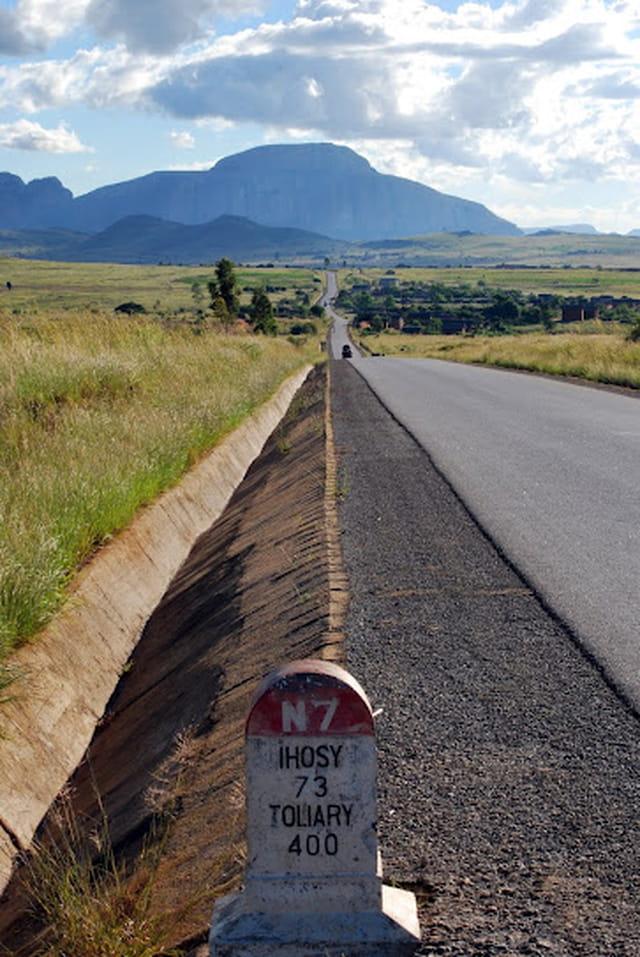 La route vers le grand Sud Malgache