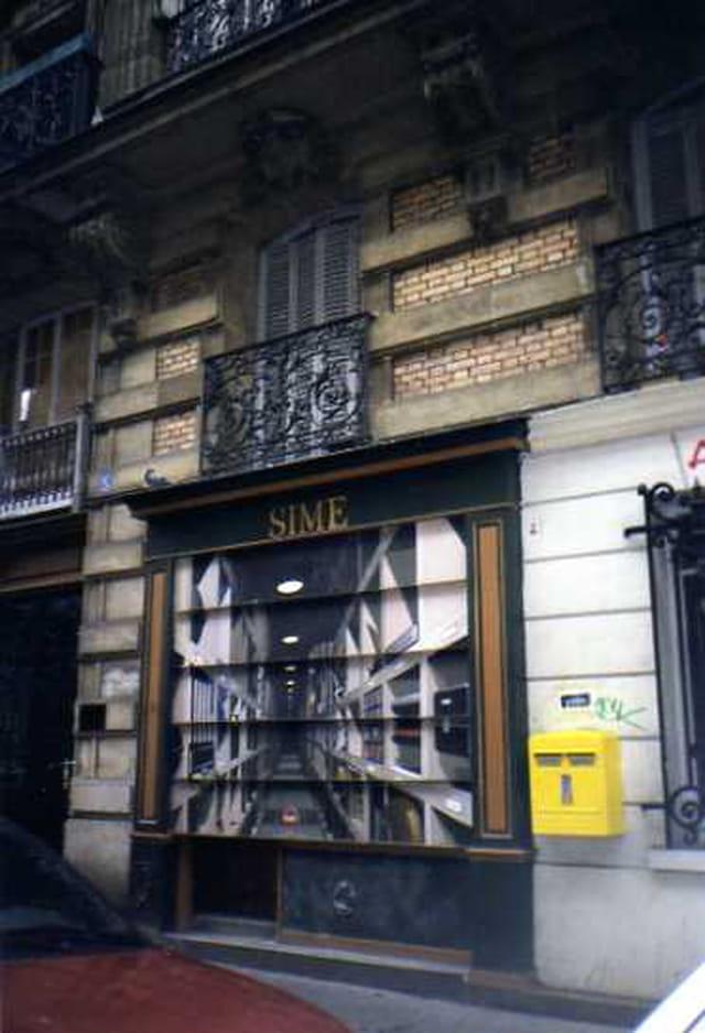 La rue dans le store