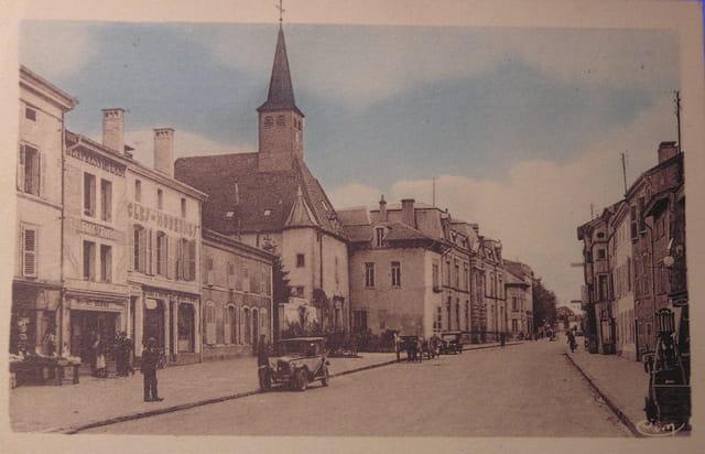 La rue de rambervillers (1920)