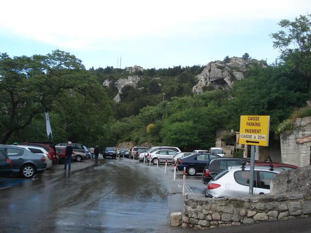 La rue vers le châteaux