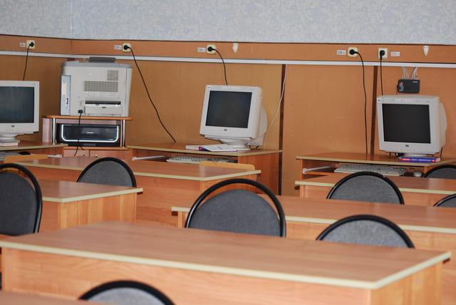 la salle de classe de l'école
