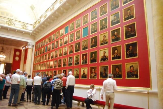 la salle Italienne du Musée de l'Ermitage