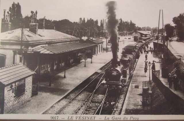 La seconde gare du Pecq (1847 à 1955)