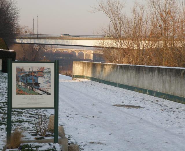 La Seine et le Pecq (Vlaminck)