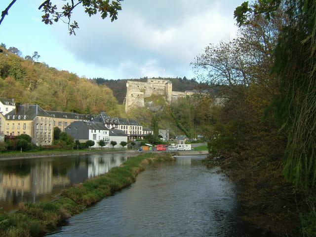 La semois et le château