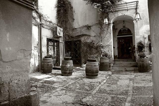 La Sicile en Black & White .