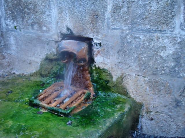 La source d'eau chaude