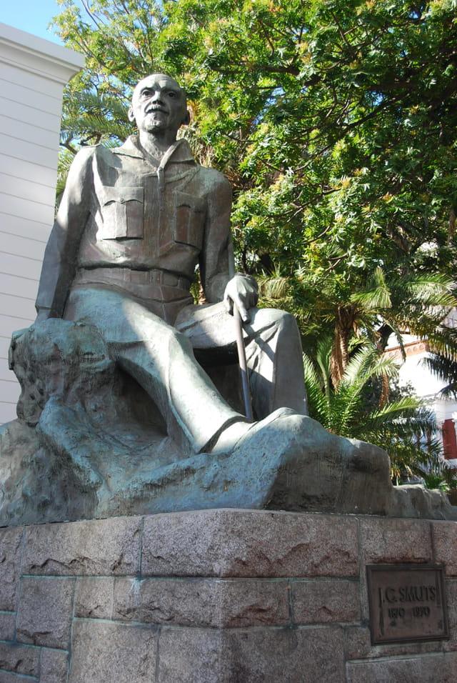 La statue de Jan Christian Smuts