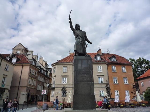 La statue de Jan Kilinski