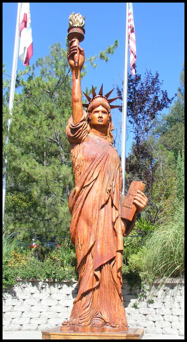 La statue de la liberté