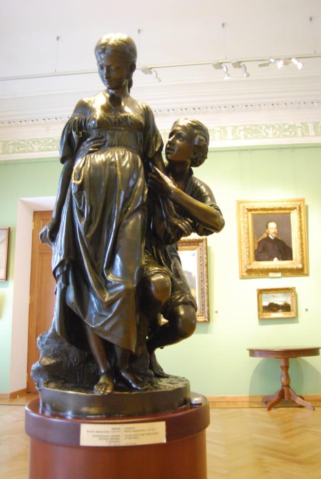 la statue du Palais du gouverneur