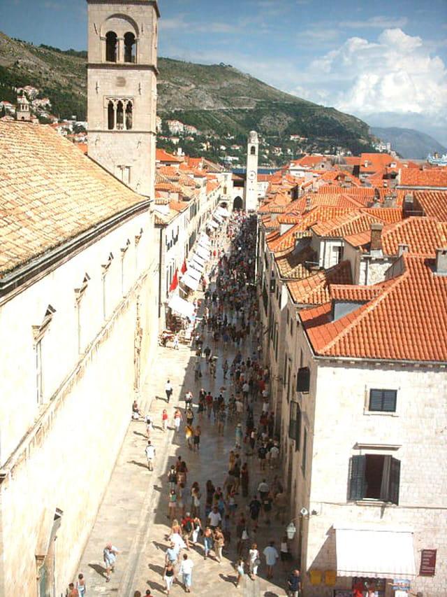 La stradun de Dubrovnik