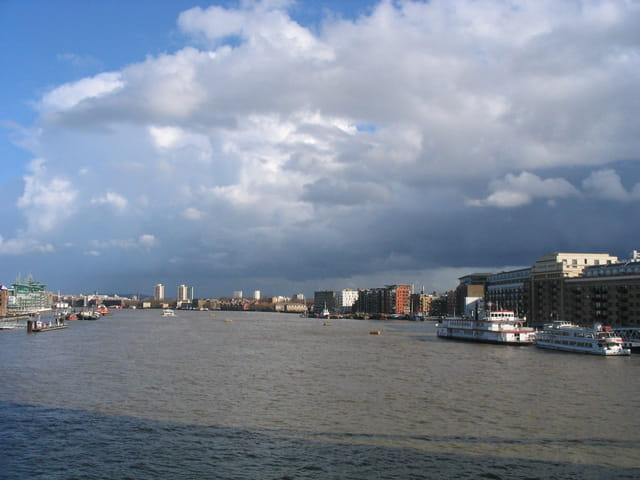La Tamise, depuis Tower Bridge