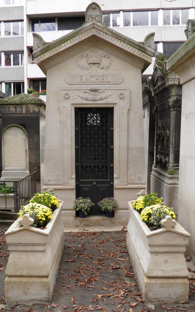 La tombe de Rachel, au Père Lachaise