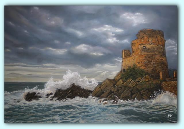 La tour de Erbalunga...