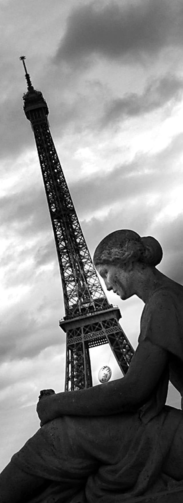 La Tour Eiffel à l'heure de la Coupe du monde de rugby