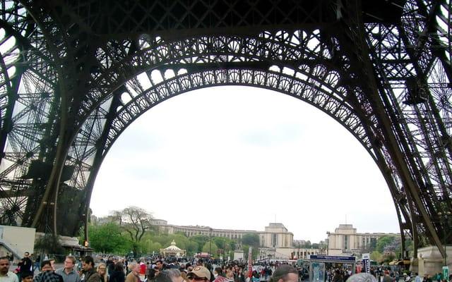 La Tour Eiffel et le Trocadéro
