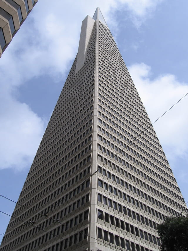 La tour Transamerica