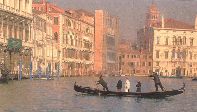 La traversée du grand canal