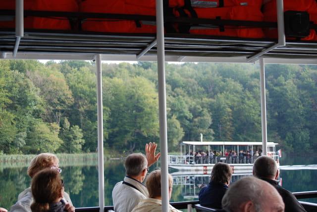la traversée du lac Kozjac