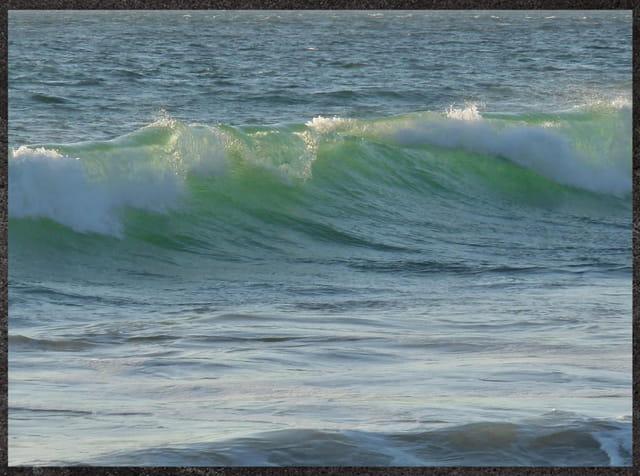 La vague émeraude (Juliane)
