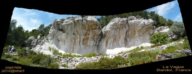 La vague rocheuse, une curiosité géographique