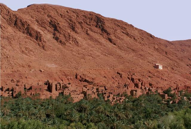 La vie berbere a Tineghir