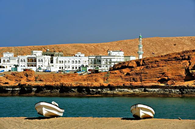 La ville de Sur (Oman)
