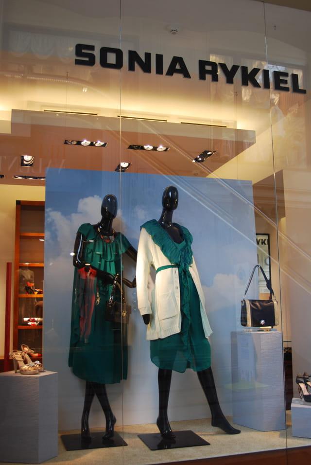 la vitrine du magasin Sonia Rykiel