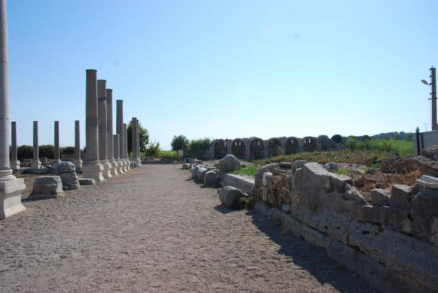 La voie antique