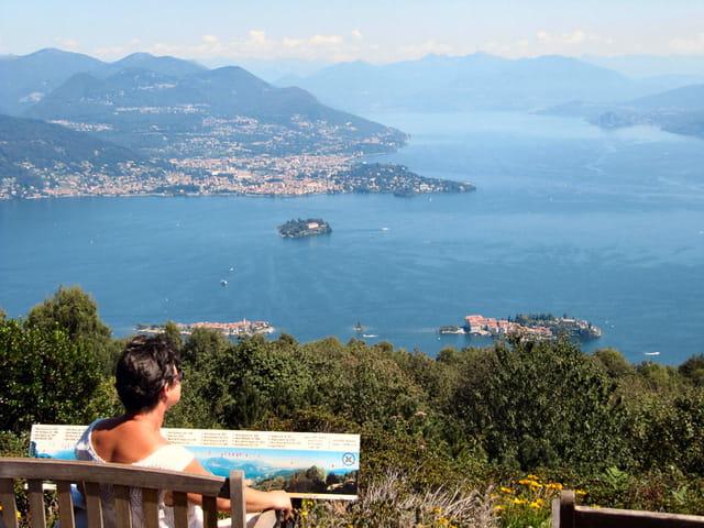 Vue sur Lago Maggiore