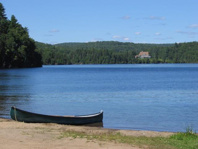 Lac à l'eau claire