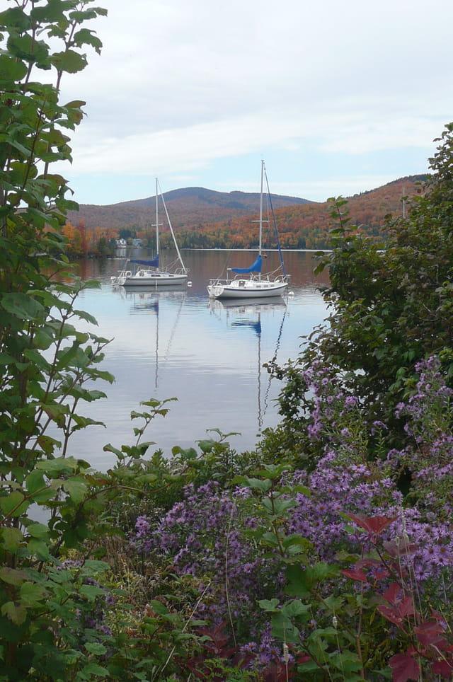 Lac Archambault à l'automne