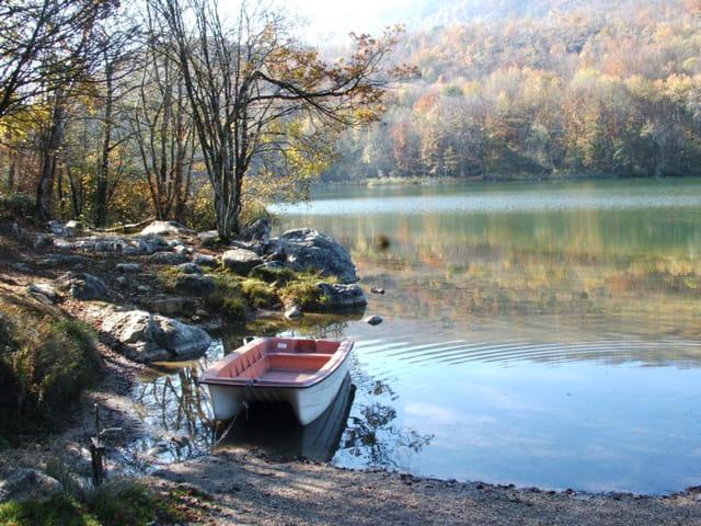 Lac aux couleurs d'automne