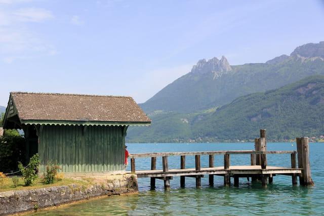 Lac d'Annecy à Doussard