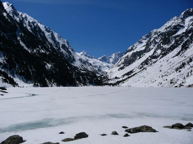 Lac de gaube et vignemale