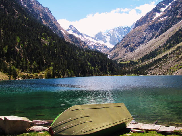 Lac de Gaube (Hautes-Pyrénées).