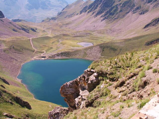 Lac de haute montagne.