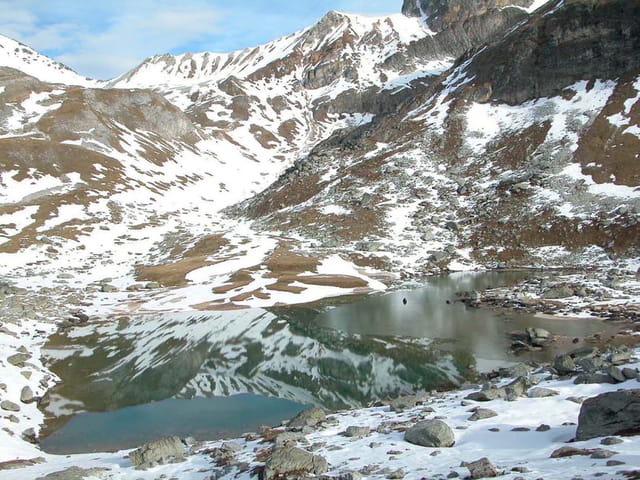 Lac de la partie_ 1ère glace