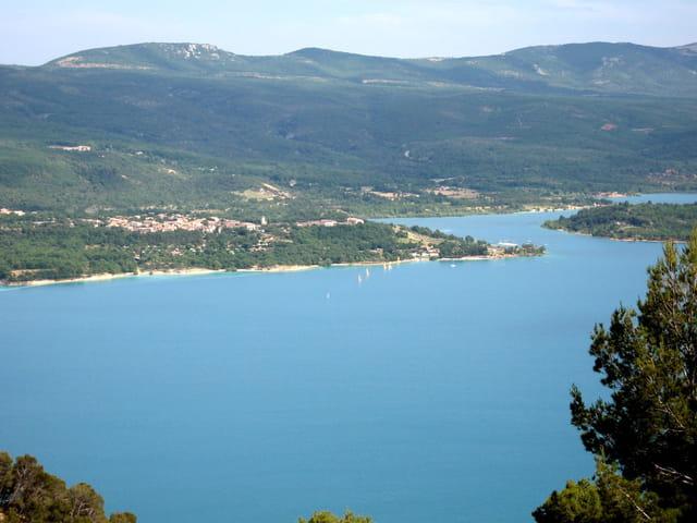 Lac de sainte croix