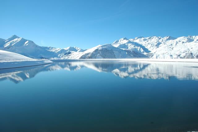 Lac de st jean d'arves