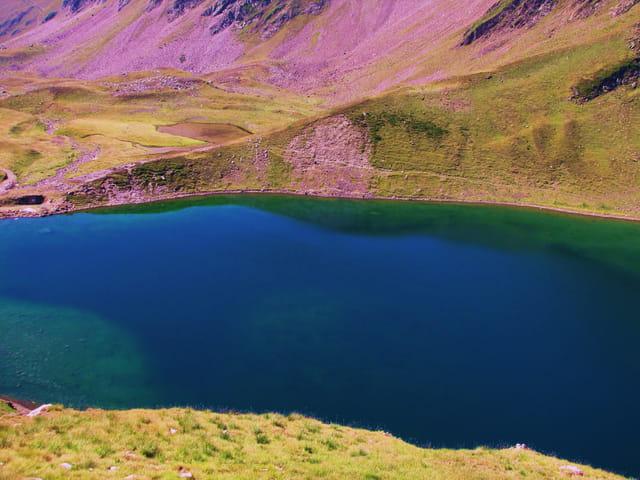 """Lac des Pyrénées """"D'ONCET""""."""